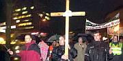 Norbert Löffler mit Kreuz
