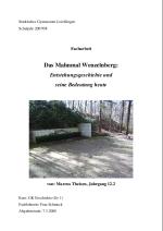 Das Mahnmal Wenzelnberg